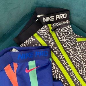 Nike Pro- dry fit yoga/running pants. Like new.